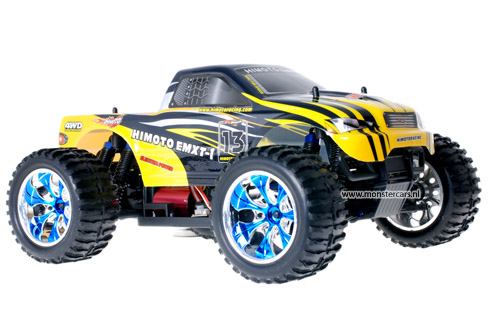 Himoto Brushless Truck Yellow Sting 2.4GHz AANBIEDING!